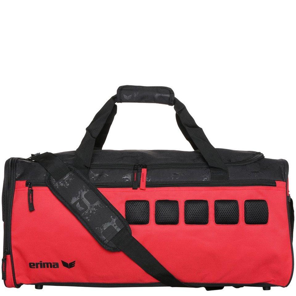 ERIMA Sporttasche in rot/schwarz
