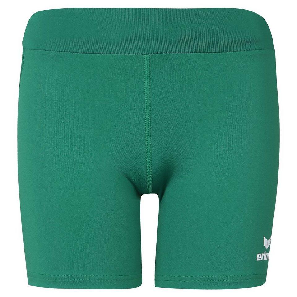 ERIMA Short Tight Damen in smaragd/weiß