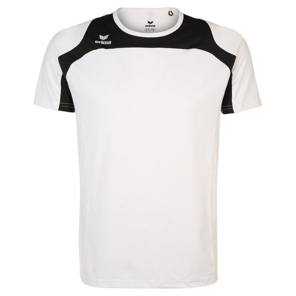 ERIMA Race Line Running T-Shirt Kinder in weiß/schwarz