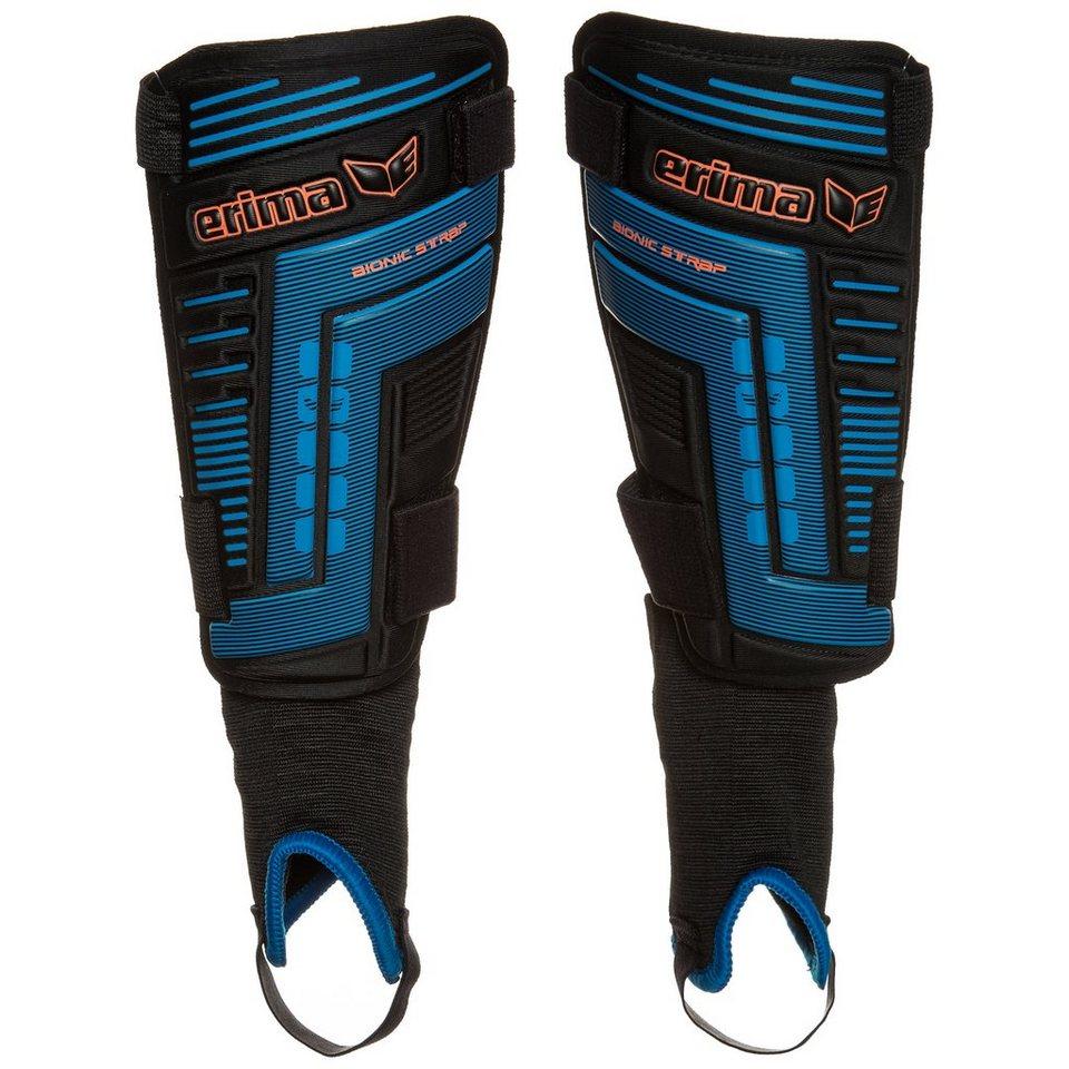 ERIMA Bionic Strap 2.0 Schienbeinschoner in schwarz/blau