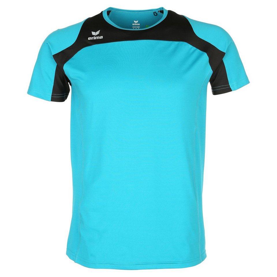 ERIMA Race Line Running T-Shirt Kinder in petrol/schwarz