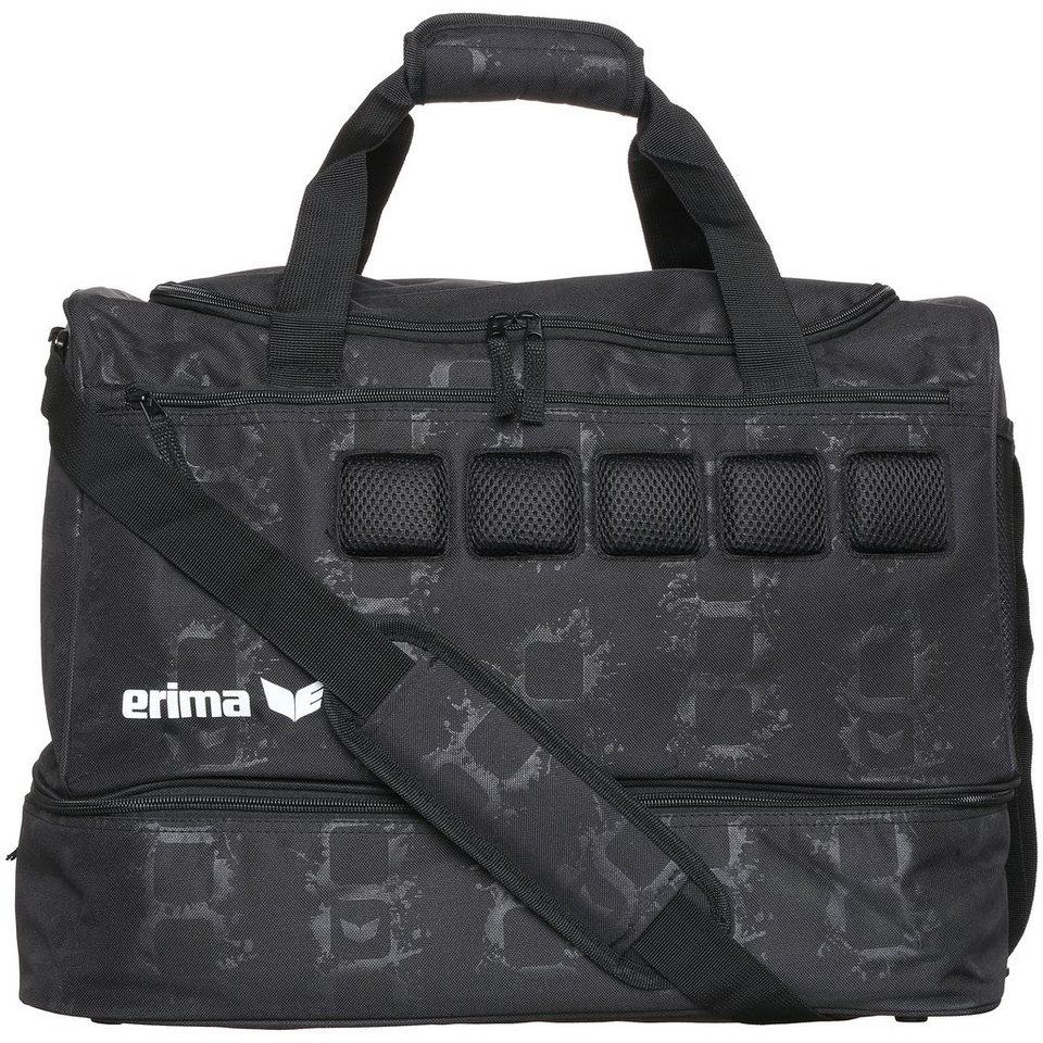 ERIMA Sporttasche mit Bodenfach in schwarz