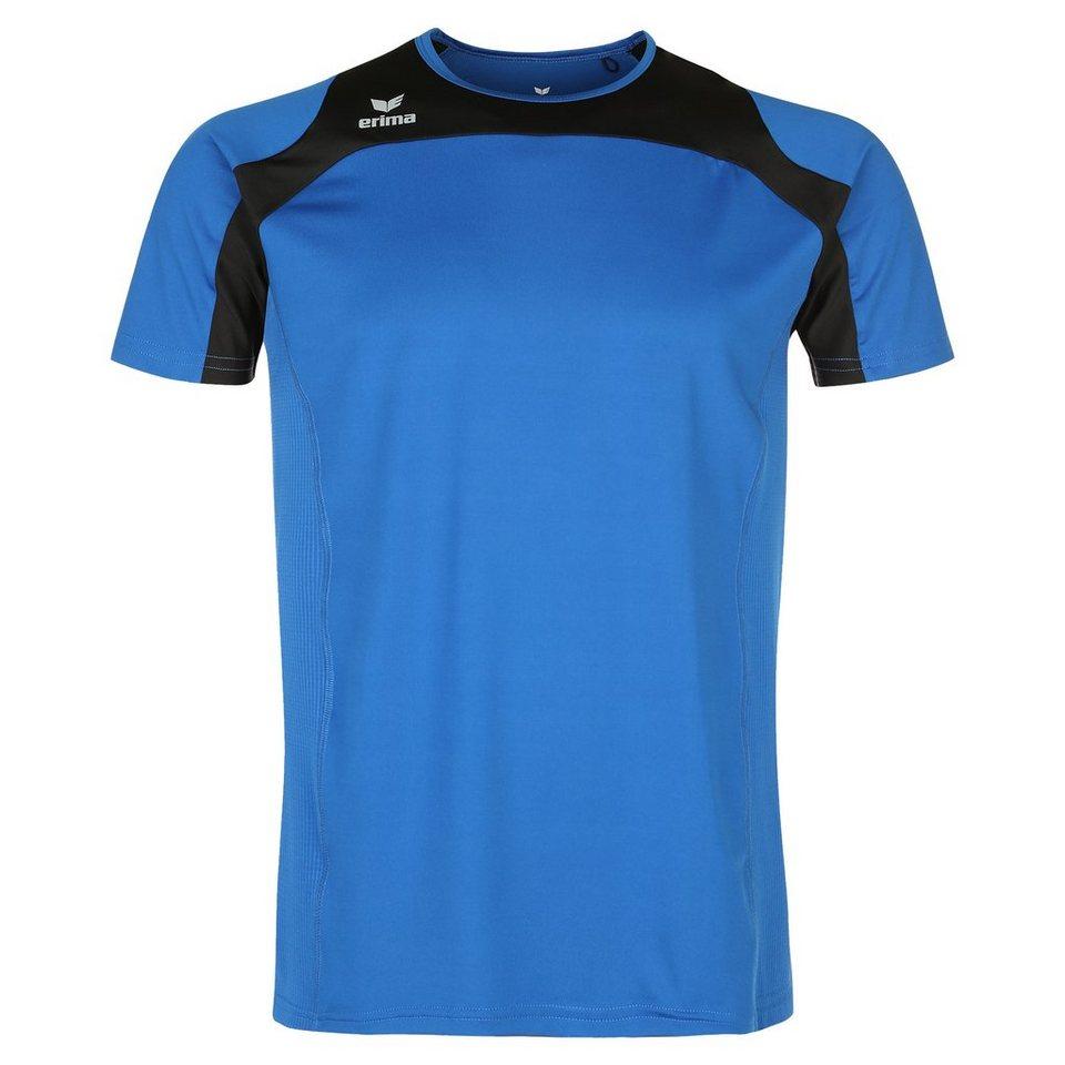 ERIMA Race Line Running T-Shirt Kinder in new royal/schwarz