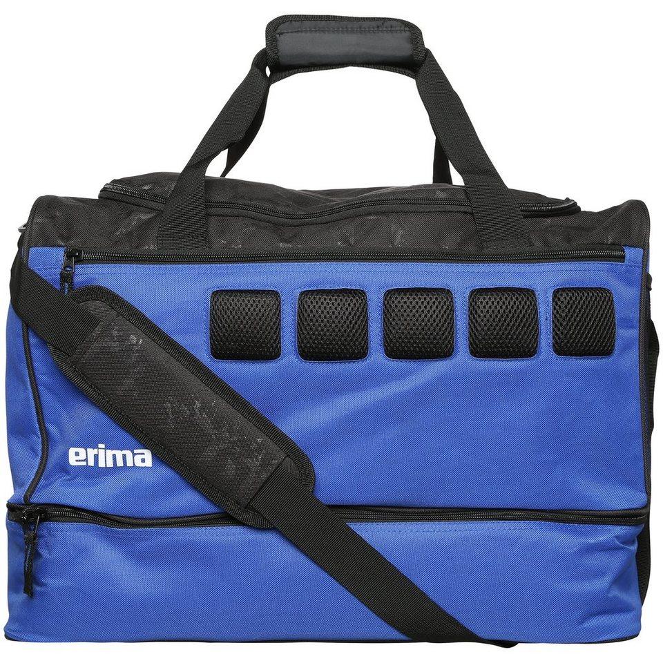 ERIMA Sporttasche mit Bodenfach in new royal/schwarz