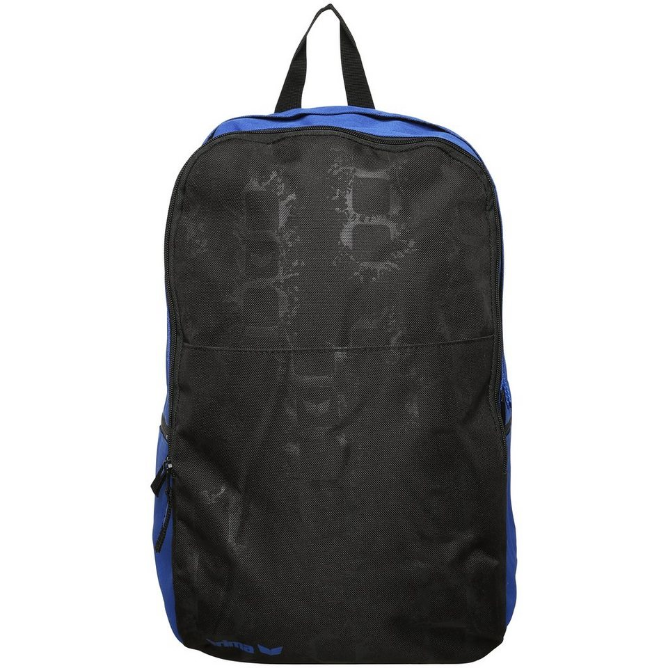 ERIMA Multifunktionsrucksack in new royal/schwarz