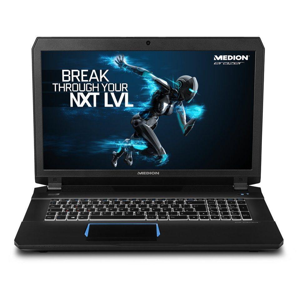 "MEDION® ERAZER® X7843 17,3"" Notebook MD 99883 »Intel®Core i7, 128GB SSD, GTX980M« in schwarz"