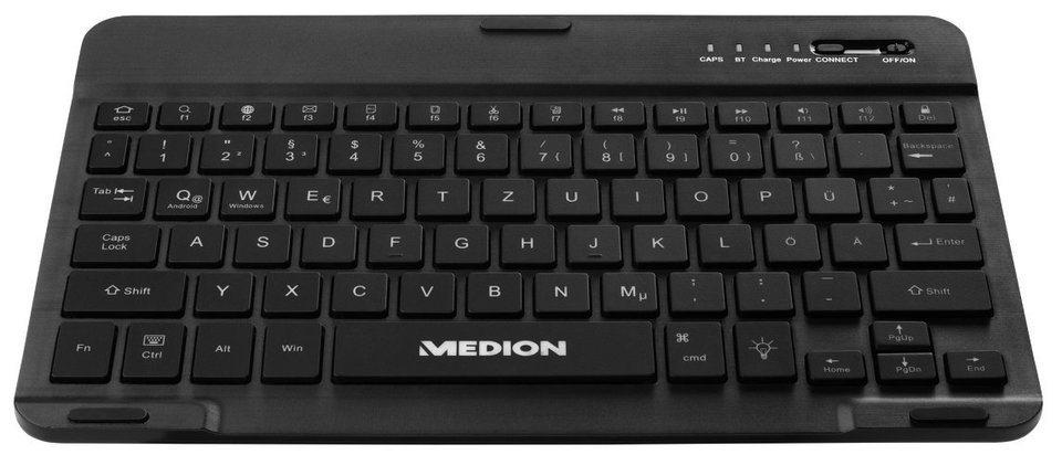 MEDION® Tablet Tasche »E89265 (MD 87369)« in schwarz