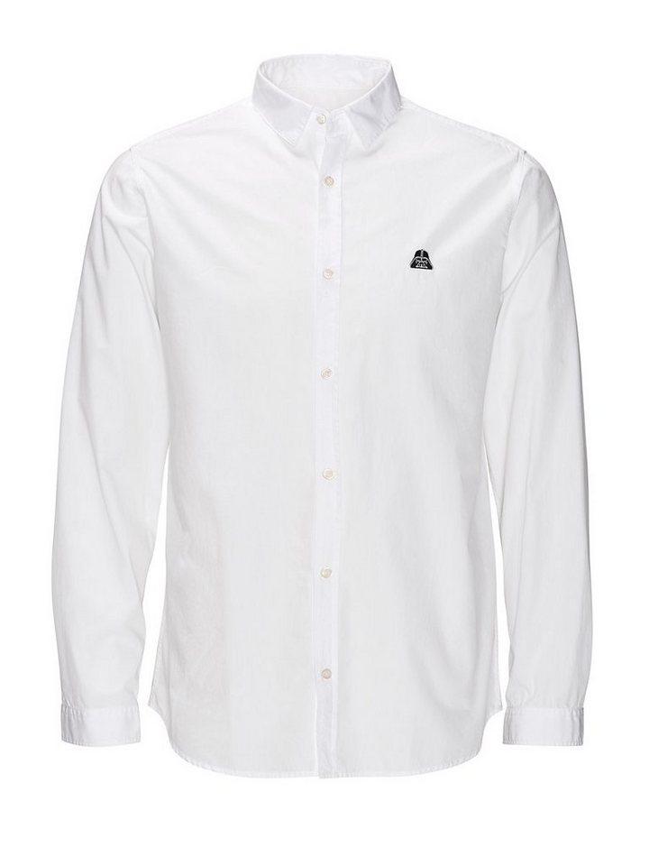 Jack & Jones Darth Vader Freizeithemd in White