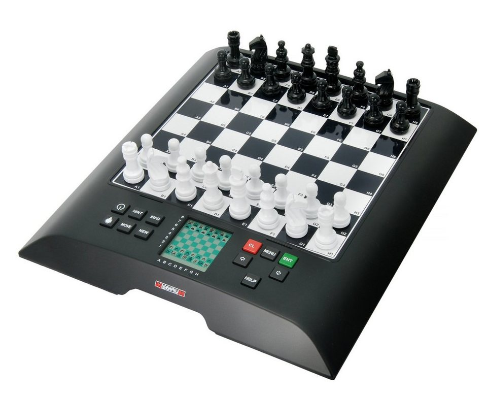Millennium Schachcomputer »ChessGenius« in schwarz