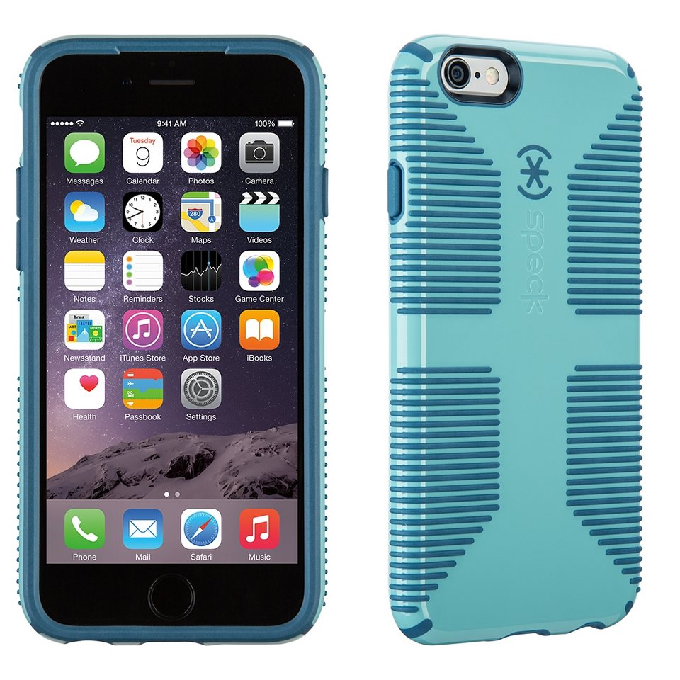 Speck HardCase »CandyShell Grip River Blue/Tahoe Blue iPhone (6/6S« in blau