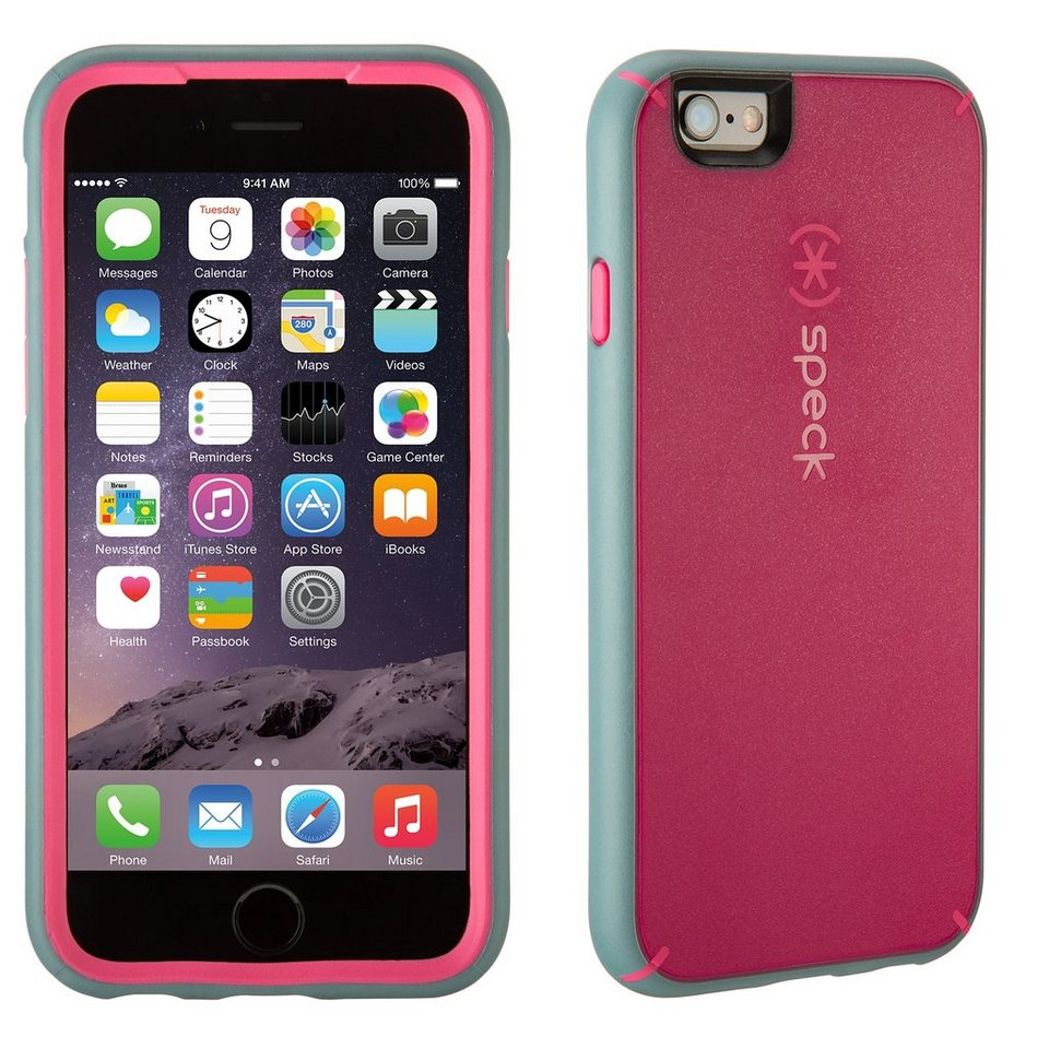 "Speck HardCase »MightyShell iPhone (6/6S) Plus 5.5"" Fuchsia Pink/C« in pink"