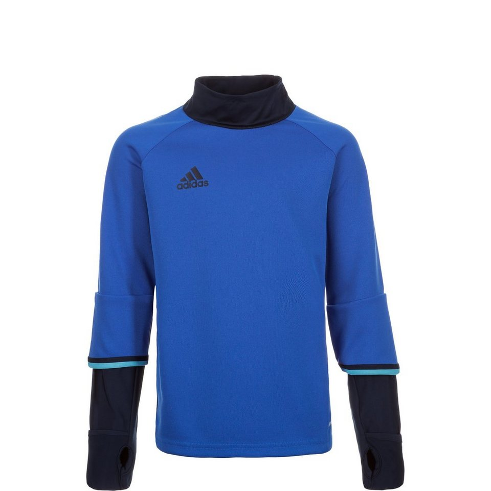 adidas Performance Condivo 16 Trainingssweat Kinder in blau / dunkelblau