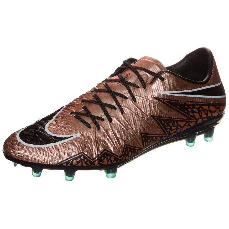NIKE Hypervenom Phinish FG Fußballschuh Herren in bronze / schwarz