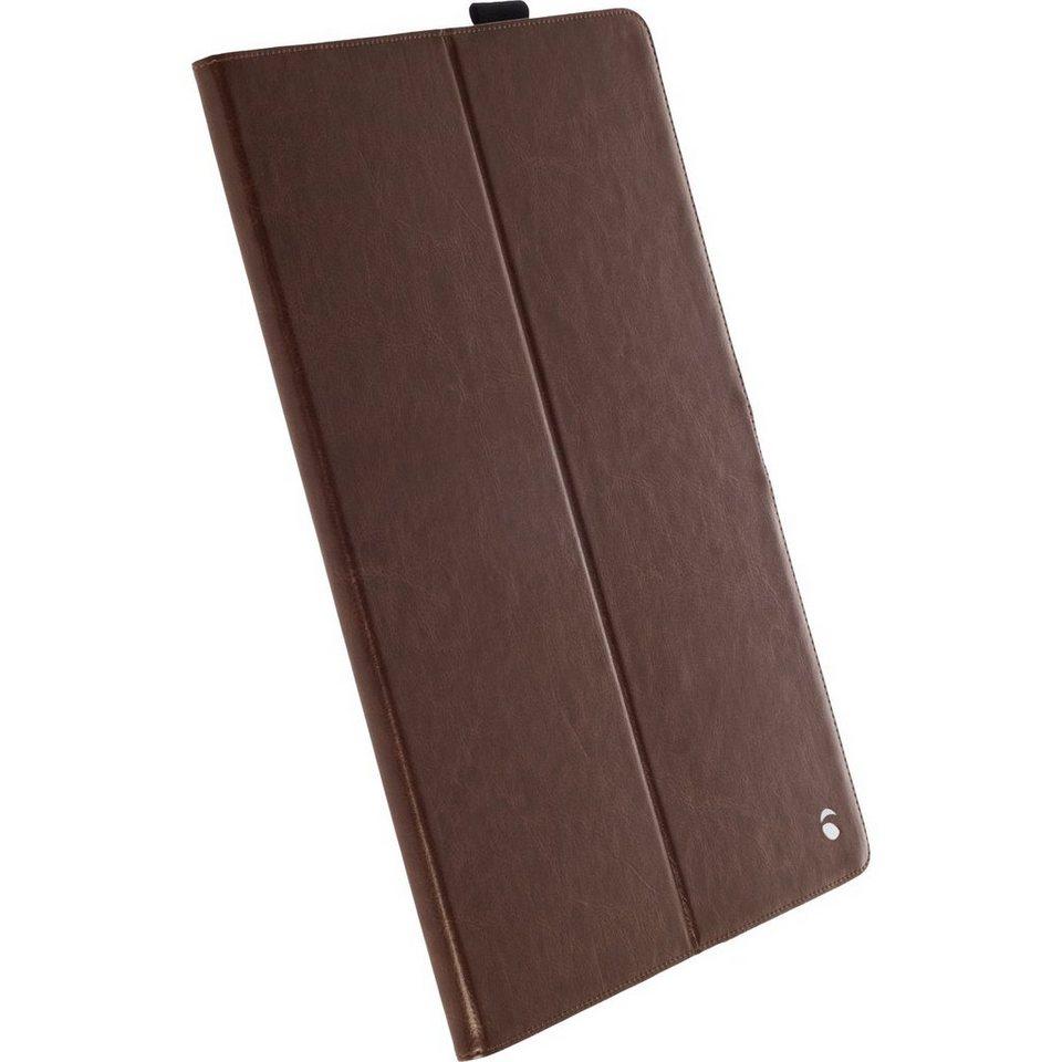 Krusell Tablettasche »Tablet Case Ekerö für Apple iPad Pro« in Kaffee