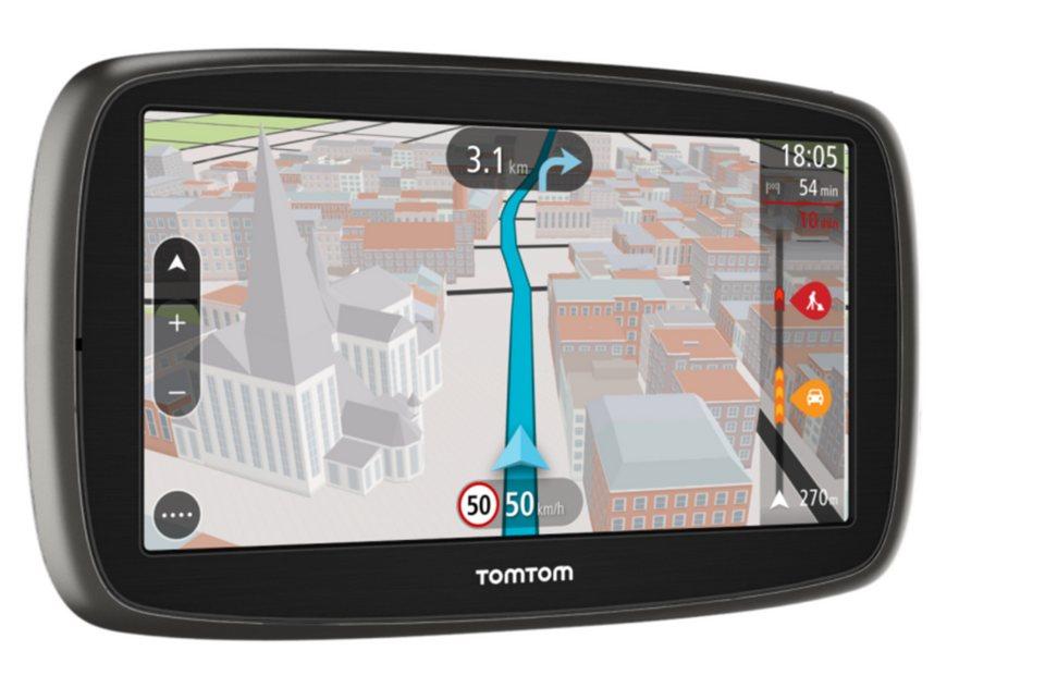 TomTom Navigationsgerät »GO 61 World« in Schwarz