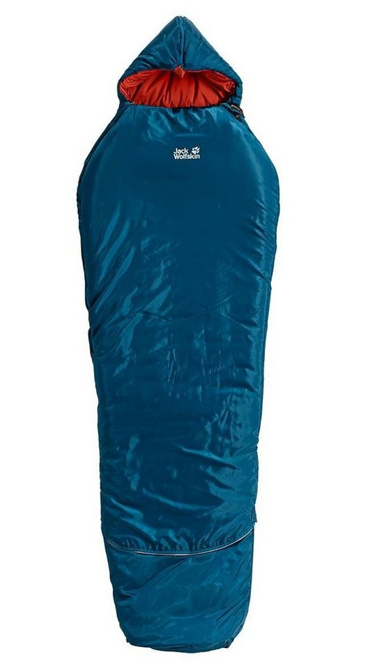 Jack Wolfskin Schlafsack »Grow Up Comfort Sleeping Bag« in blau