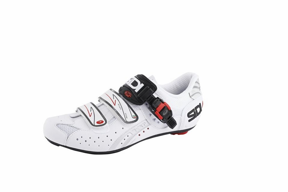 Sidi Fahrradschuhe »Genius 5 Fit Carbon Fahrradschuh Men white/white« in weiß