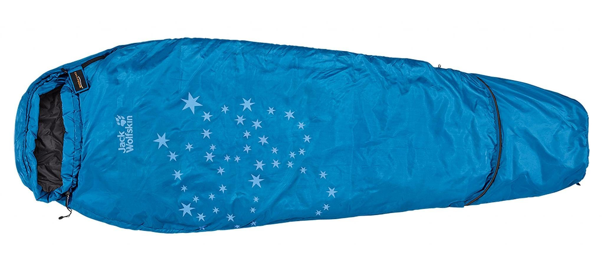 Jack Wolfskin Schlafsack »Grow Up Star Sleeping Bag electric blue«