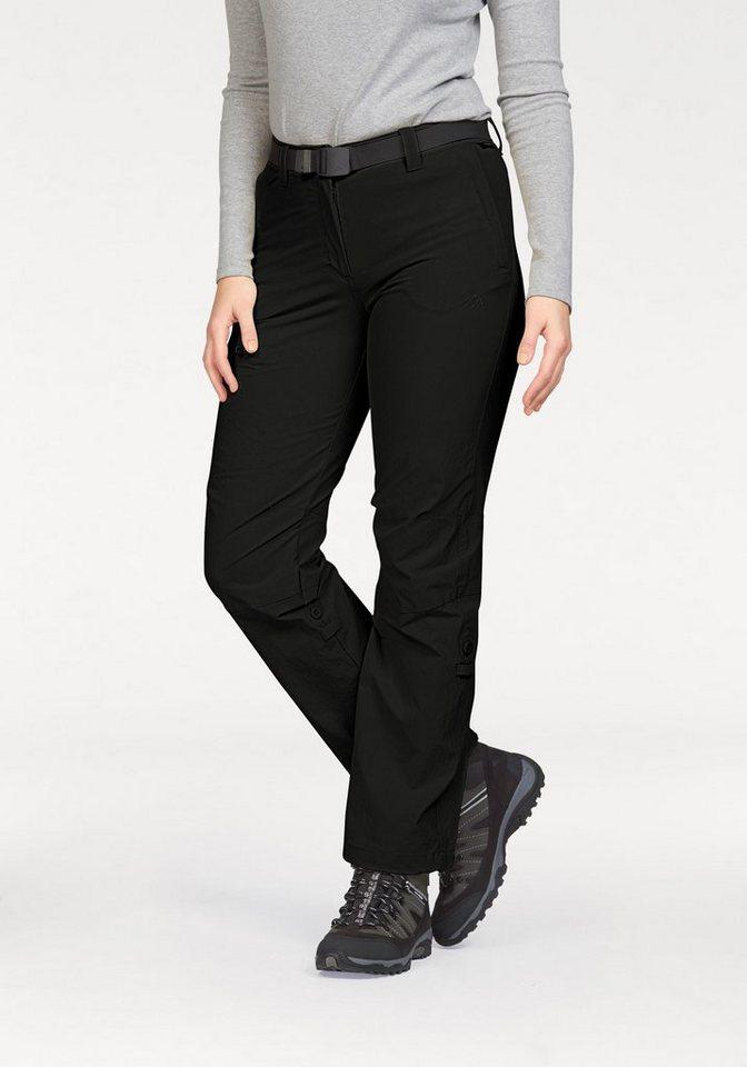 Maier Sports Trekkinghose »LULAKA« mit UV-Schutz in schwarz