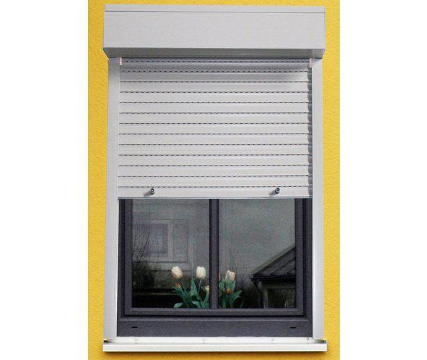 Kunststoff »Vorbau-Rollladen« Festmaß, BxH: 110x220 cm, grau