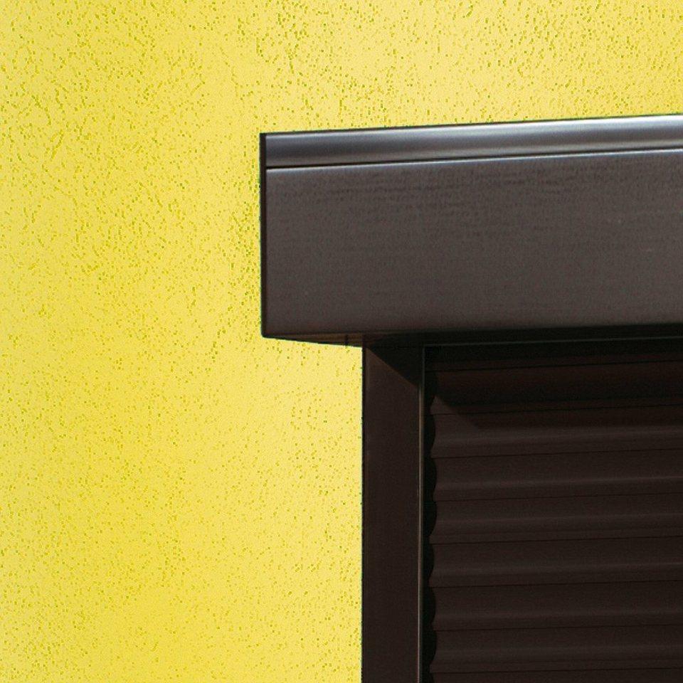 Kunststoff »Vorbau-Rollladen« Festmaß, BxH: 70x100 cm« braun in braun