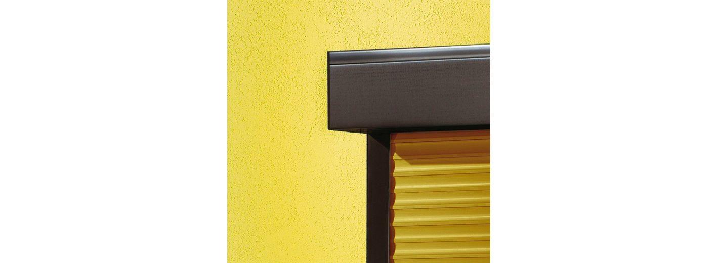 Kunststoff »Vorbau-Rollladen« Festmaß, BxH: 110x220 cm, holzfarben-braun