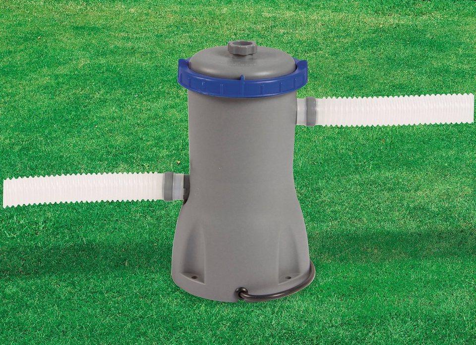 Filterpumpe »Flowclear Filterpumpe 3028 l/h« in grau