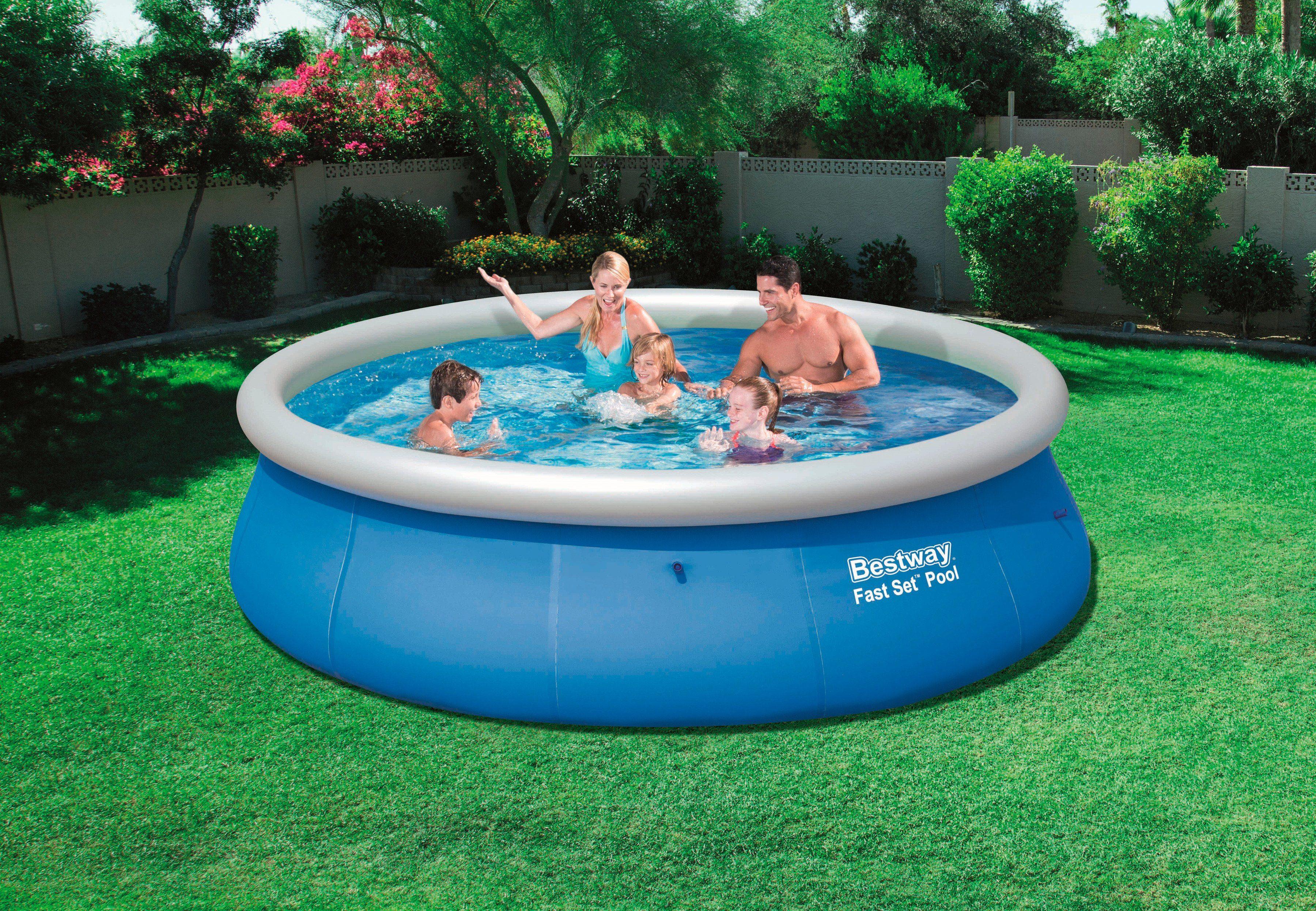 Bestway Quick-Up Pool »Fast Set Pool«, ØxH: 396 x 84 cm