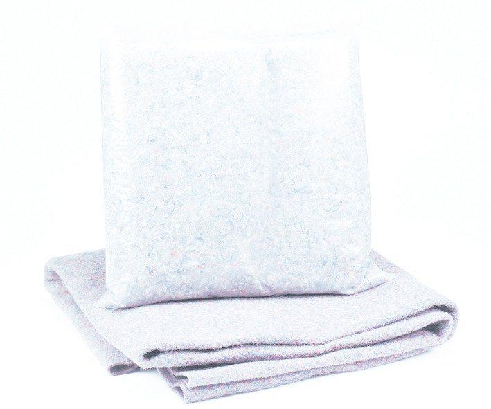 MYPOOL Bodenschutzvlies »Premium«, für Achtformbecken, in 3 Größen in weiß