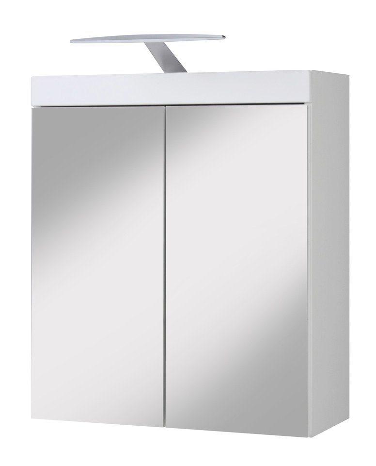 Spiegelschrank »Aqua«, Breite 60 cm in weiß