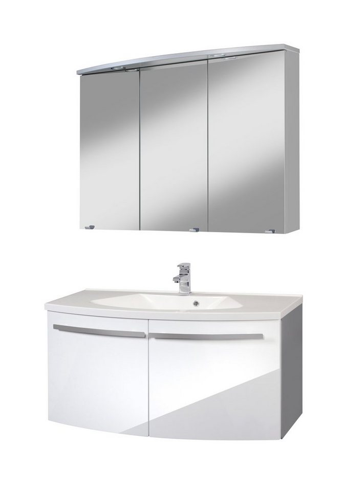 waschplatz set h rnum breite 100 cm 2 tlg otto. Black Bedroom Furniture Sets. Home Design Ideas