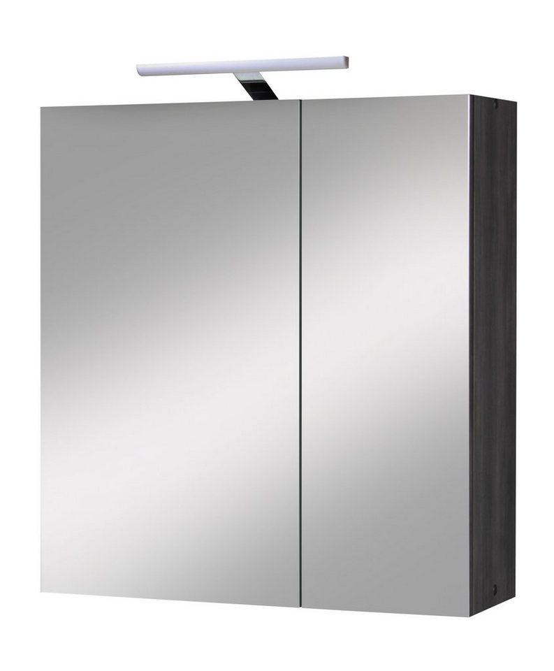 kesper spiegelschrank tokio breite 65 cm mit beleuchtung online kaufen otto. Black Bedroom Furniture Sets. Home Design Ideas