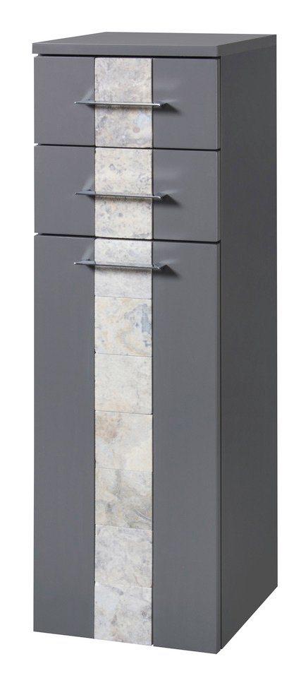 Midischrank »Stone«, Breite 33 cm in basaltfarben
