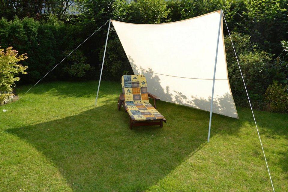 Sonnensegel »Camping - Vierecksonnensegel« 300x250cm in weiß