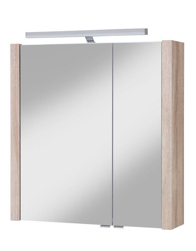 Schildmeyer Spiegelschrank »Tico« Breite 67,6 cm, mit Beleuchtung