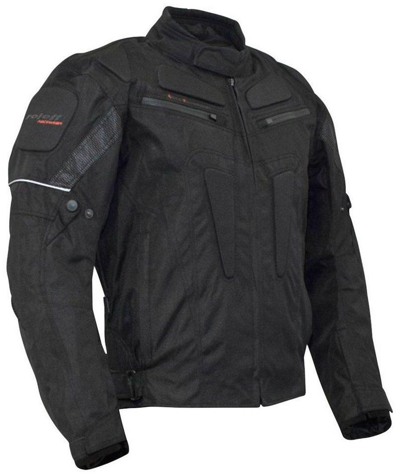 Motorradjacke »RIGA« in schwarz