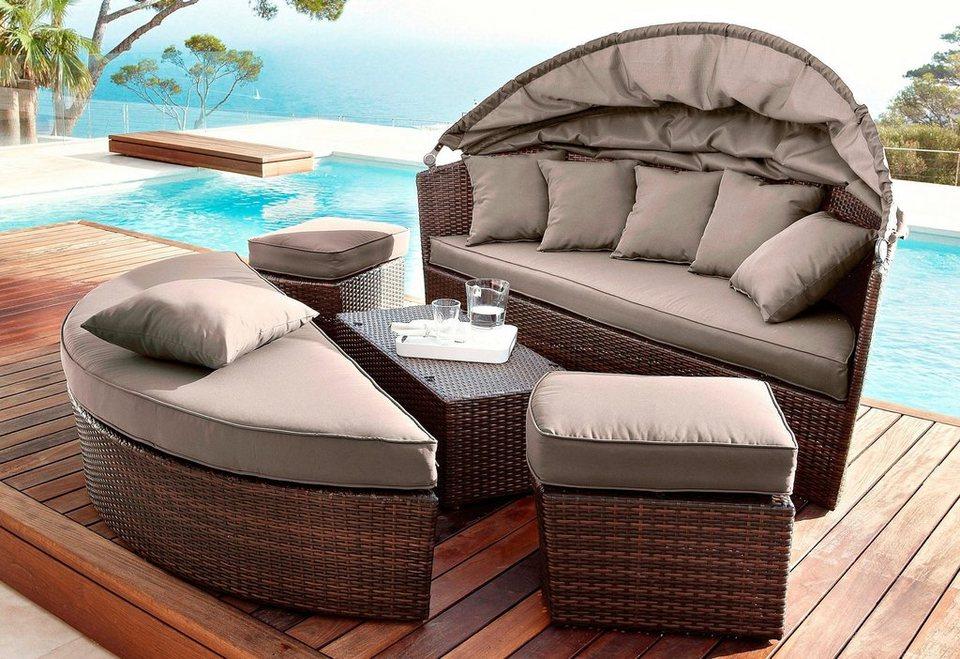 hanse gartenland schutzh lle multi lounge loungebett. Black Bedroom Furniture Sets. Home Design Ideas