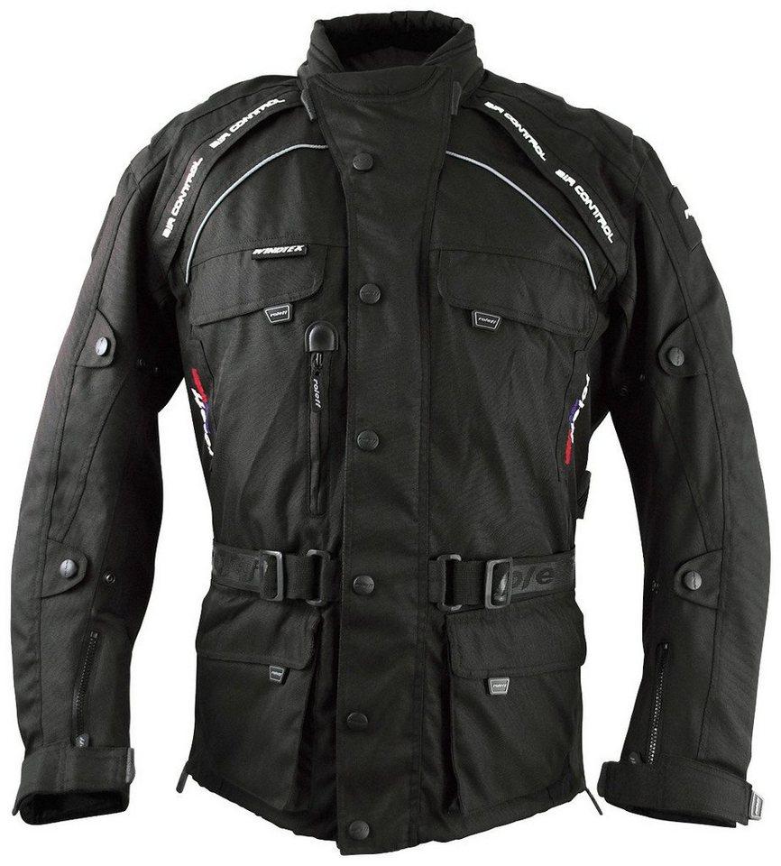 Motorradjacke »Liverpool RO780« in schwarz