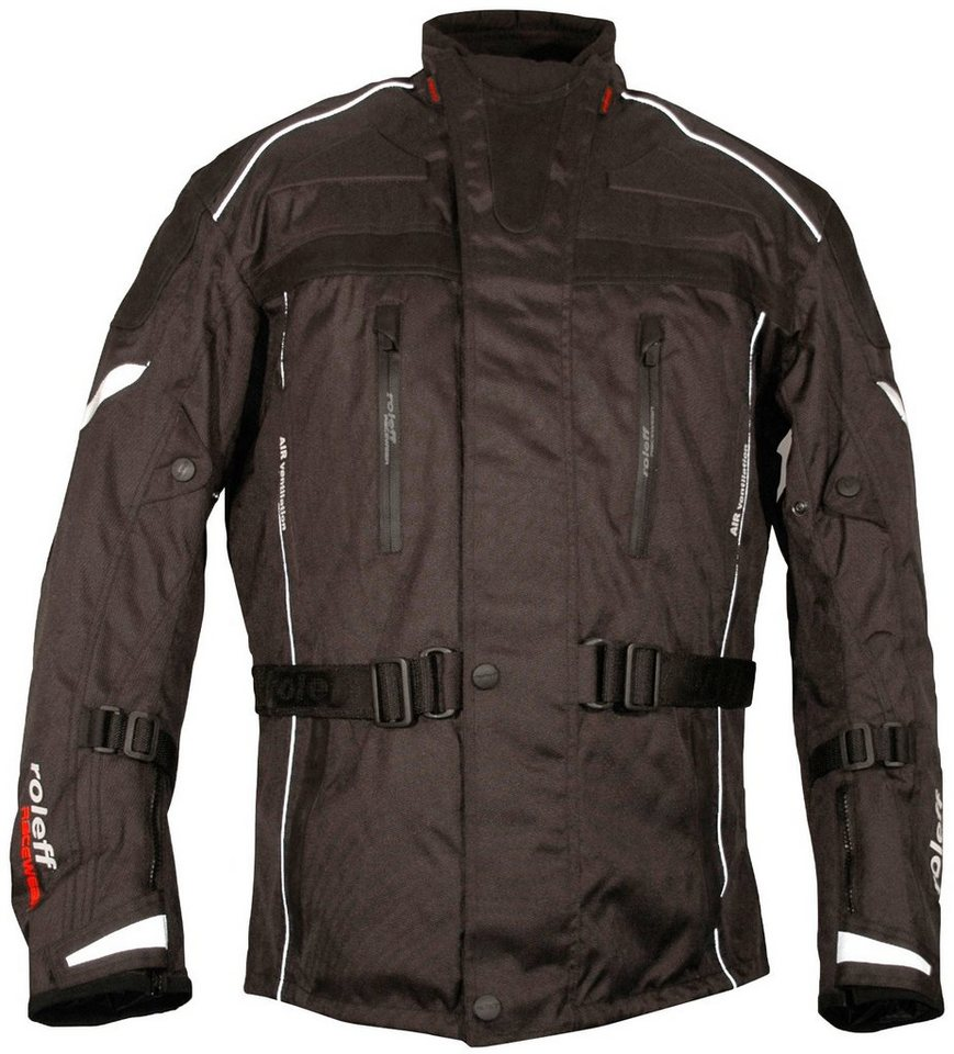 Motorradjacke »VALETTA« in schwarz