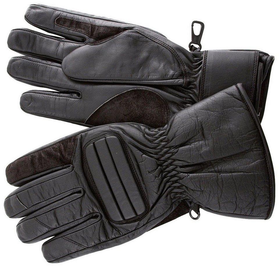Motorradhandschuhe »RO 500« in schwarz