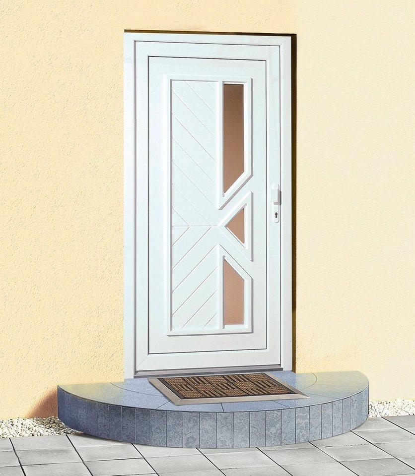 Kunststoff-Haustür »Lichtenstein«, BxH: 100x210 cm in weiß