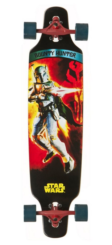 Star Wars Longboard, »Bounty Hunter« in mehrfarbig
