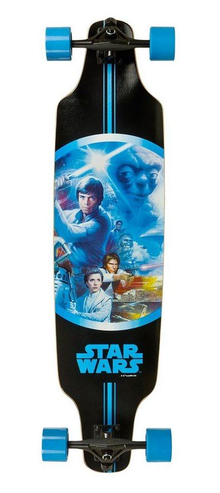 Star Wars Longboard, »Luke« in mehrfarbig
