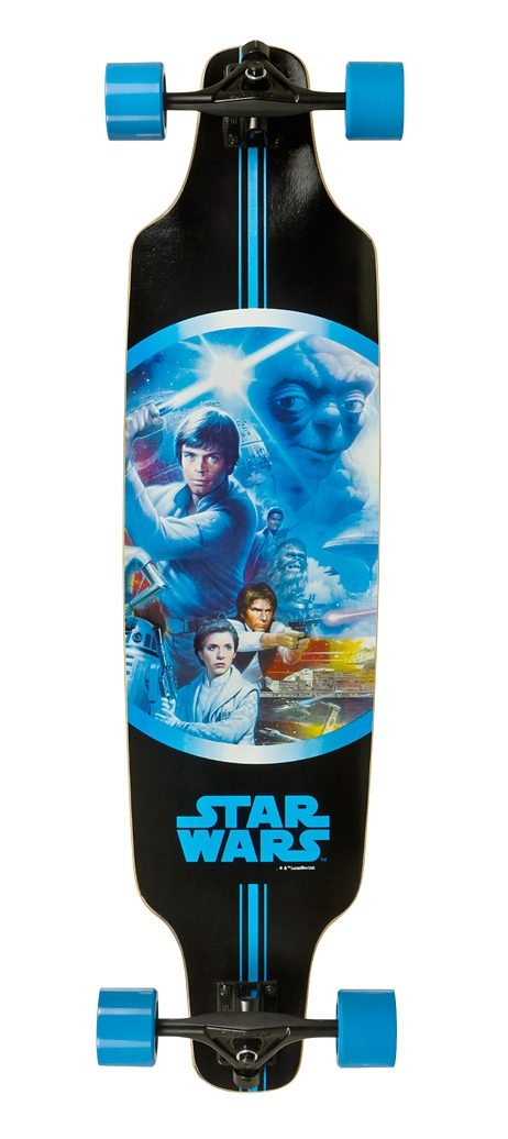 Star Wars Longboard, »Luke«