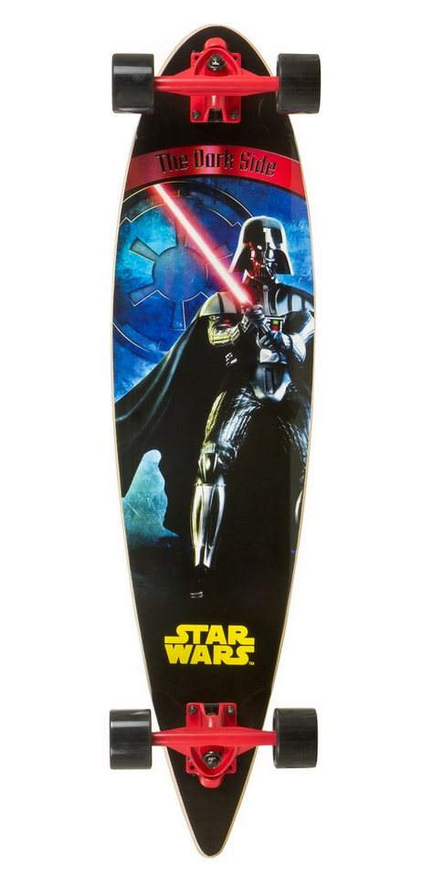 Star Wars Longboard, »The Dark Side« in mehrfarbig