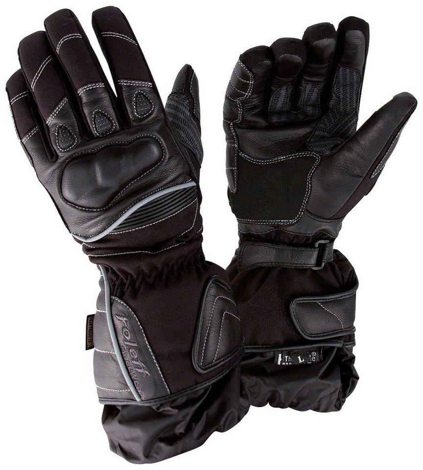 Motorradhandschuhe »RO 82« in schwarz