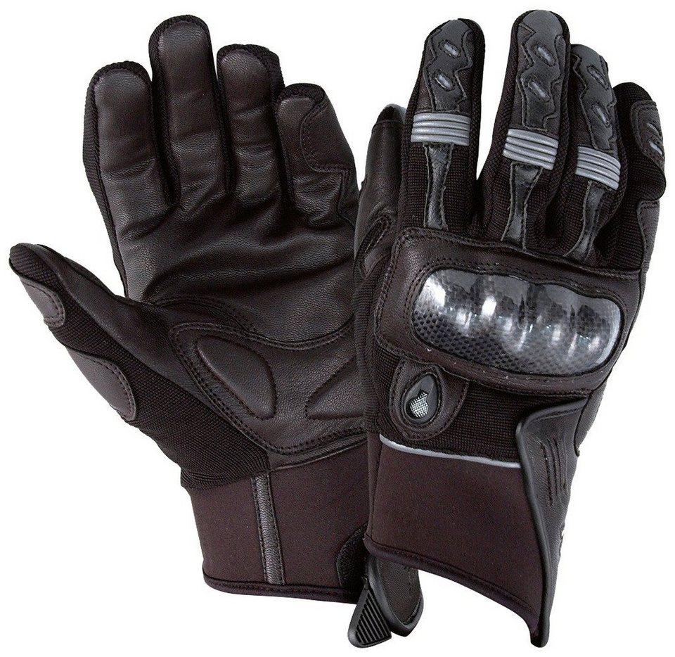 Motorradhandschuhe »RO 70« in schwarz
