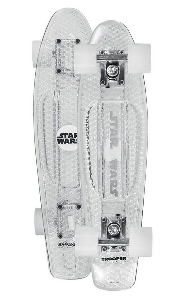 Star Wars Vinyl Board, »Stormtrooper« in weiß