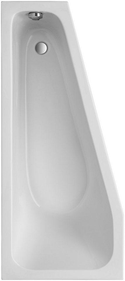 Ottofond Raumsparwanne »Koala Vario«, Breite/Tiefe in cm: 170/75 in weiß