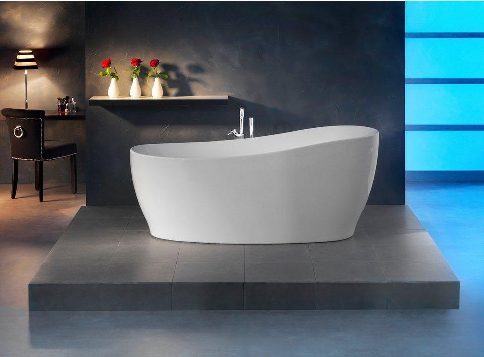 Badezimmer Idee Mit Frei Stehender Badewanne